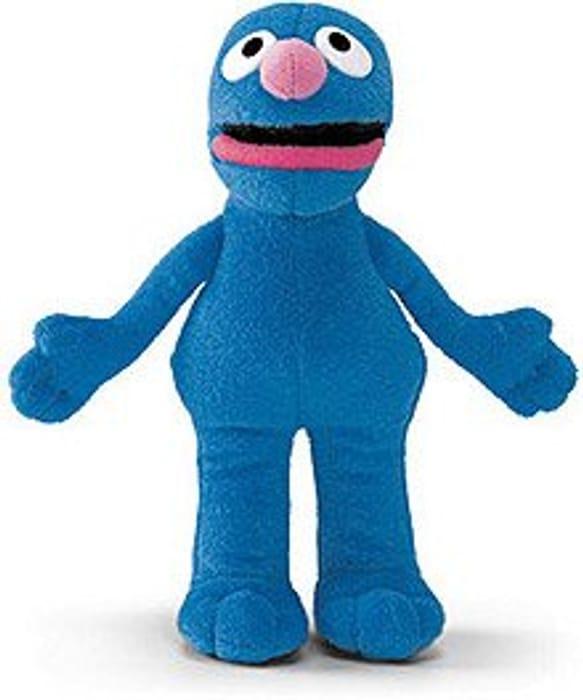 Sesame Street - Grover Full Body Finger Puppet