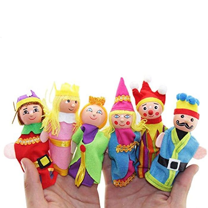 Finger Puppets, 6PCS Finger Toys Hand Puppets