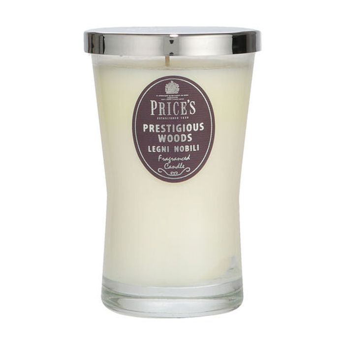 Price's Prestigious Woods Large Signature Candle