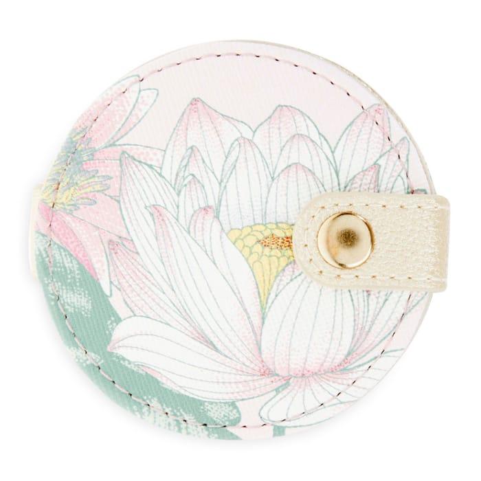 Laura Ashley Waterlilies Handbag Mirror
