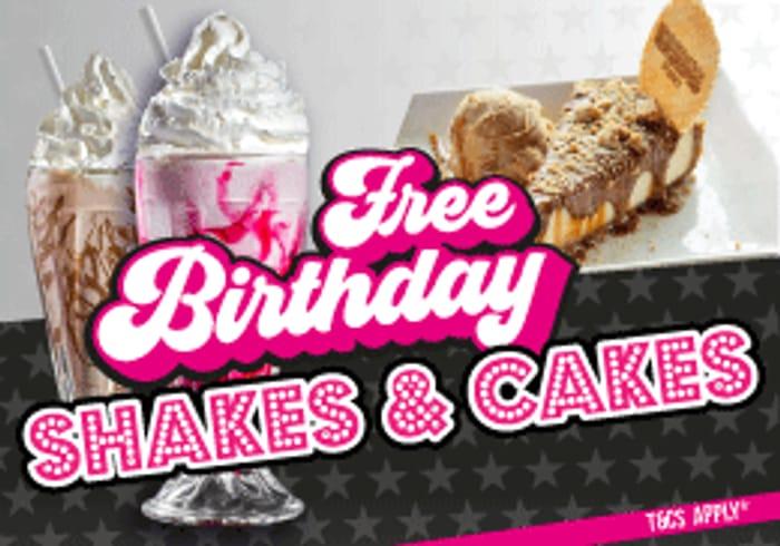 Free Birthday Milkshake or Yummy Cake at Kaspas