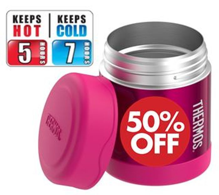 1/2 PRICE - THERMOS FUNtainer Food Flask, 290ml (Several Colours)