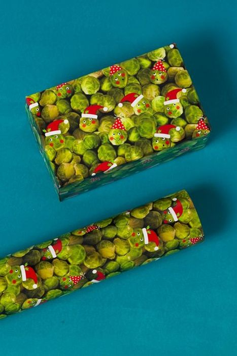 The Cutest Christmas Wrapping Paper You Ever Did See (5m Too!!)