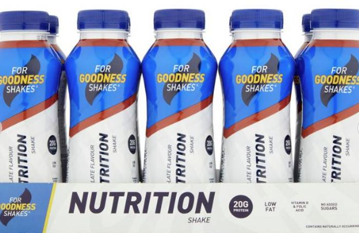 For Goodness Shakes Chocolate Nutrition Shake X 10
