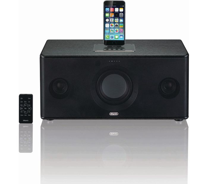 IWANTIT Bluetooth Wireless Docking Station - Black