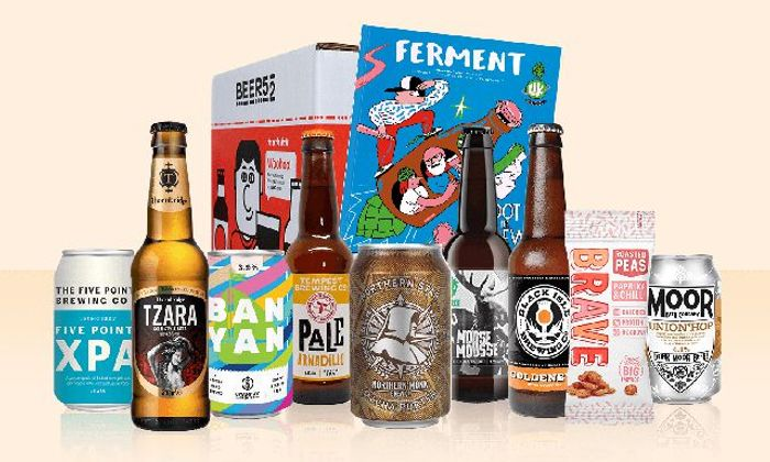 A Free Crate of Eight Craft Beers with Beer52