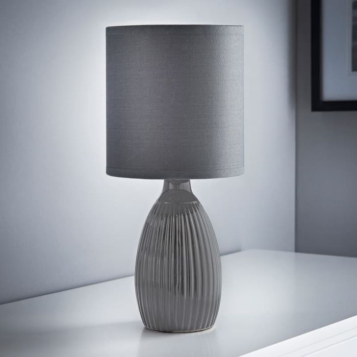 Lucy Ripple Ceramic Table Lamp.