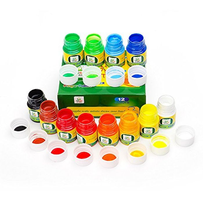 Washable Finger Paints Set