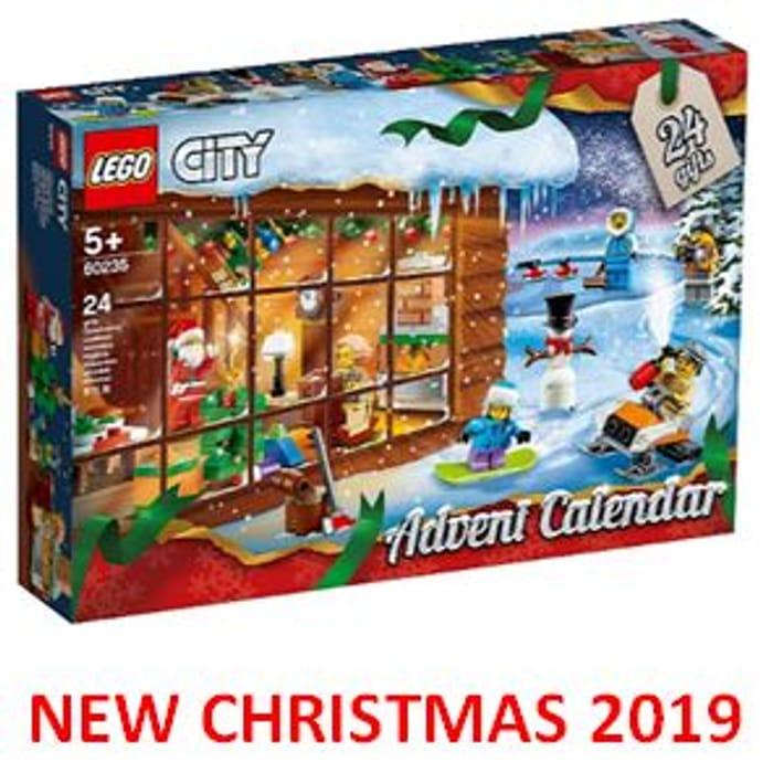 Cheap LEGO City Advent Calendar 2019 24 Mini Builds - 60235 Only £20