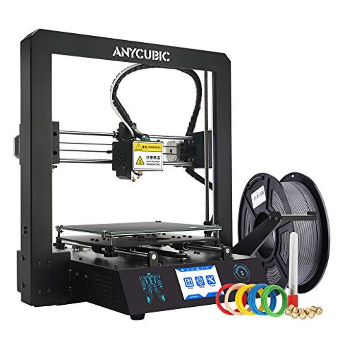 ANYCUBIC MEGA-S 3D Printer with UltraBase Heated Build Plate UK Plug