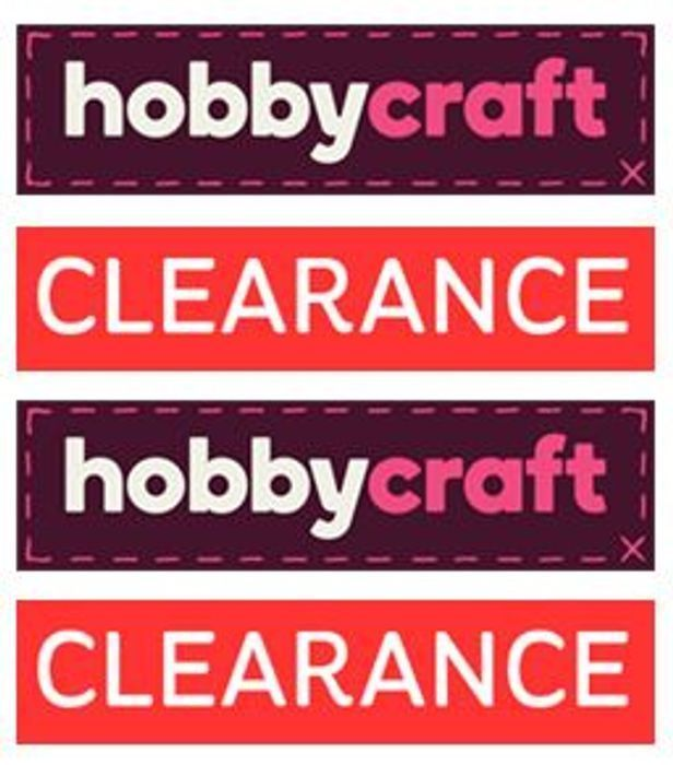 Hobbycraft ONLINE CLEARANCE - over 900 Products - from 50p