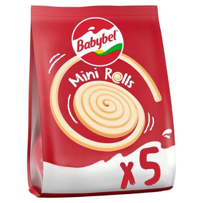 Babybel Spirolls 5 X 17g for £1 at Morrisons