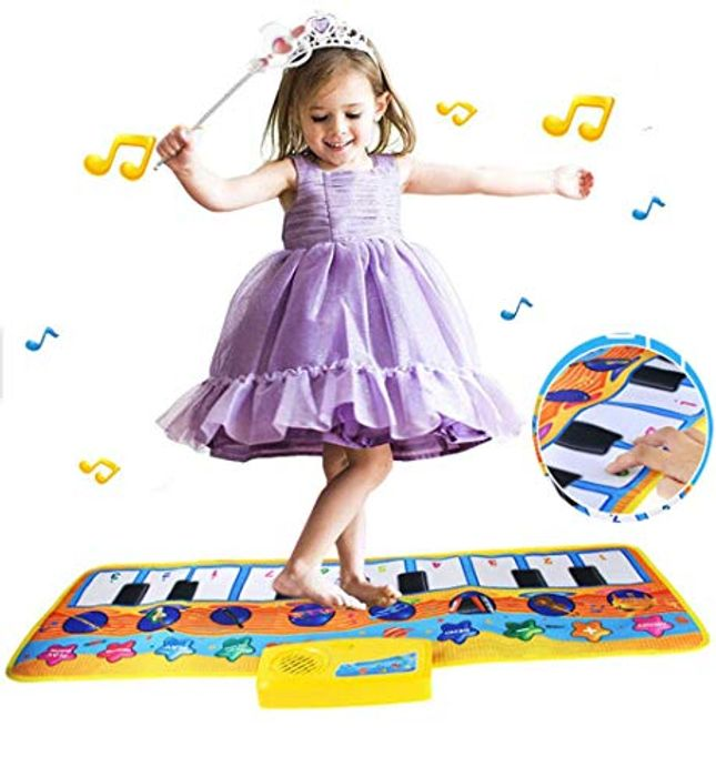 Keyboard Piano Musical Mat for Kids