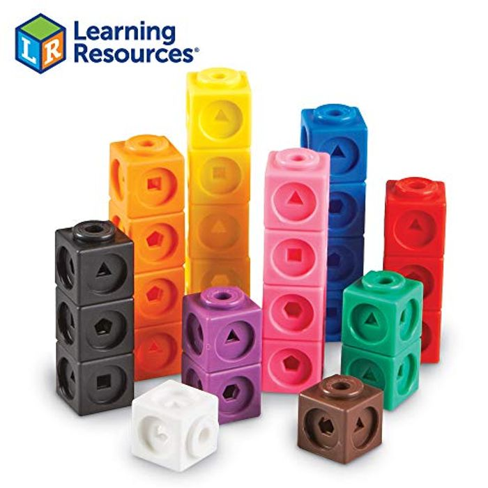 Bargain! Learning Resources Mathlink Cubes at Amazon