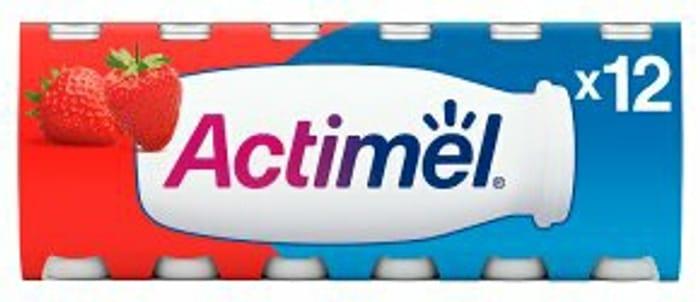 Actimel Various Flavours 12 X 100g