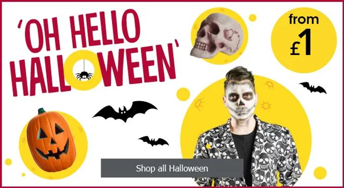 Oh Hello Halloween! Prices Start from £1 at Wilkos