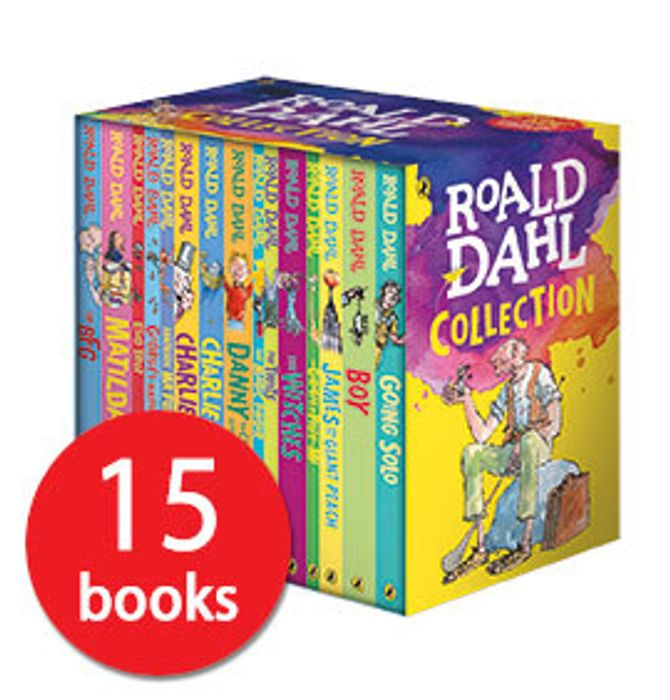 Roald Dahl Collection - 15 Books £17.50 with Code