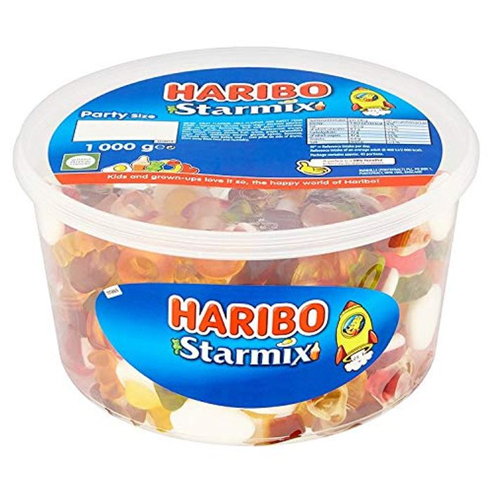 Best Ever Price! Haribo Starmix Party Size Tub 1kg (add on item)
