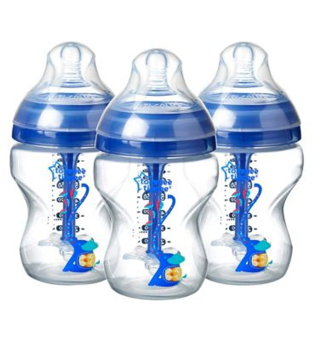 Tommee Tippee Advanced Anti Colic 3 X 260ml Bottles