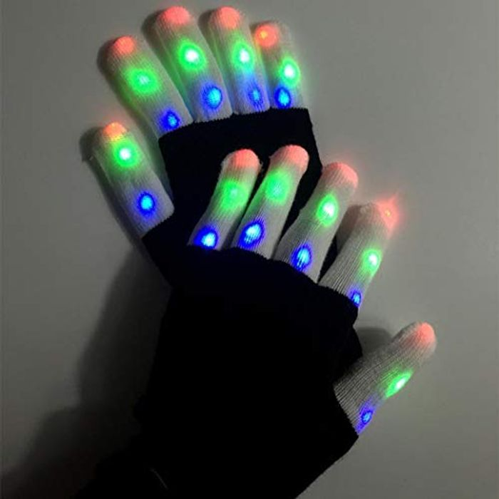 LED Gloves 60% off + Free Delivery