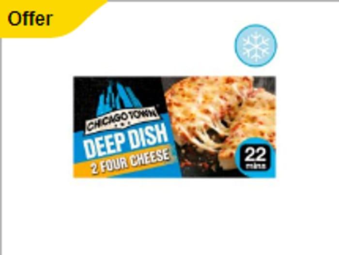 Chicago Town Deep Dish Four Cheese 310G