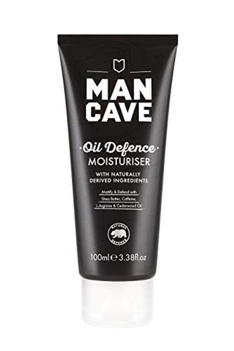 ManCave Oil Defence Moisturiser, 100 Ml