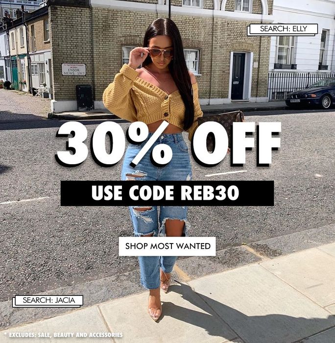 Exclusive Extra 11% off Sale Orders at Rebellious Fashion