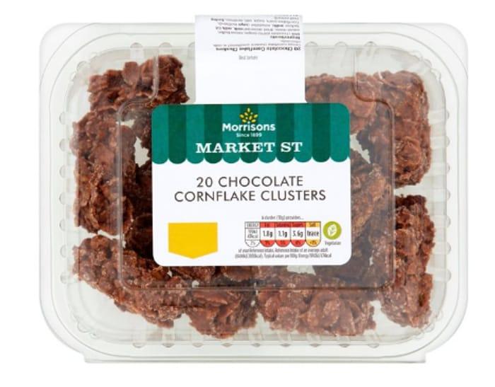 Morrisons Market St Cornflake Clusters 20 per Pack