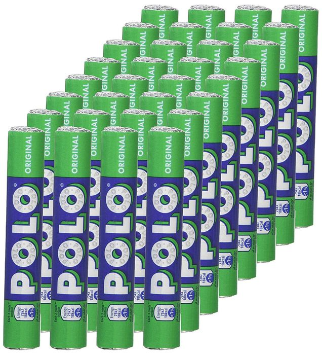 Best Ever Price! Polo Original Tube, 34.0 G (Pack of 32)