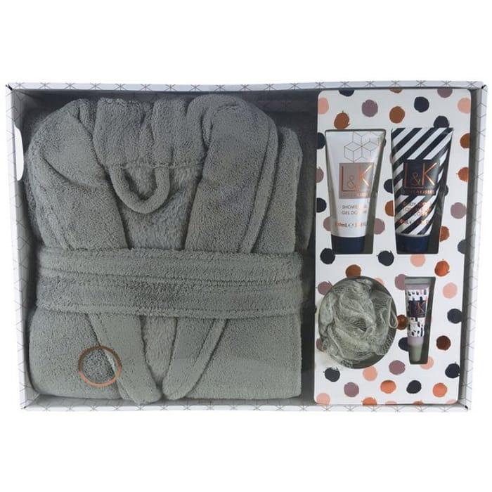 Technic Love & Kisses Bath Robe Gift Set