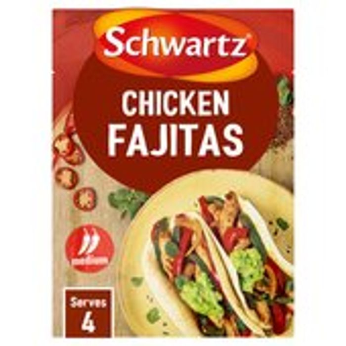 Schwartz Chicken Fajita Authentic Mix 35g