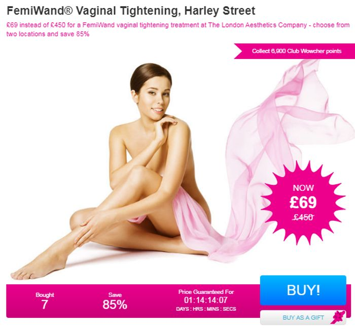 FemiWand Vaginal Tightening, Harley Street Bought 7
