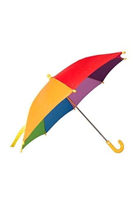 Mountain Warehouse Kids Rainbow Umbrella - Fun & Colourful Rainbow