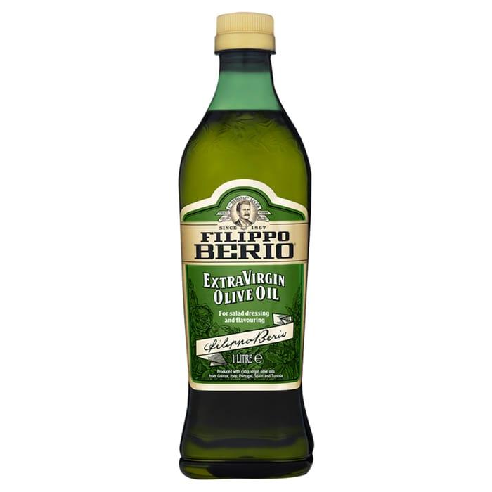 Filippo Berio Extra Virgin Olive Oil 1Ltr Half Price