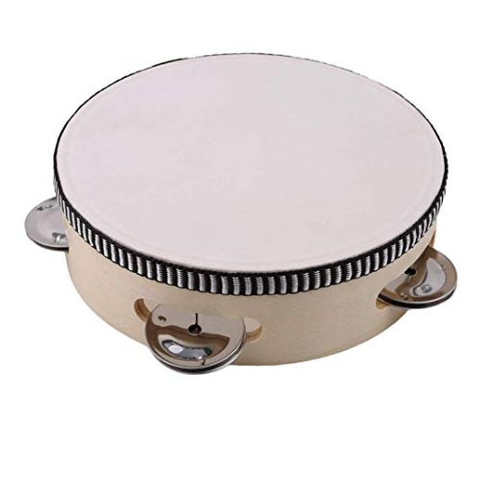 Cheap Ogquaton Hand Percussion Children Tambourine at Amazon - Only £2.93!