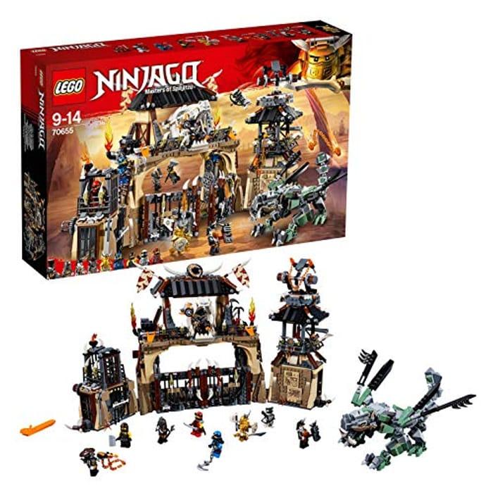 Best Ever Price! LEGO Ninjago 70655 Dragon Pit