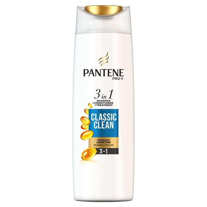 Pantene Classic Clean 3In1 Shampoo & Conditioner 450Ml