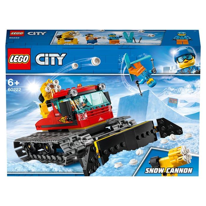 LEGO City Snow Groomer Car Toys