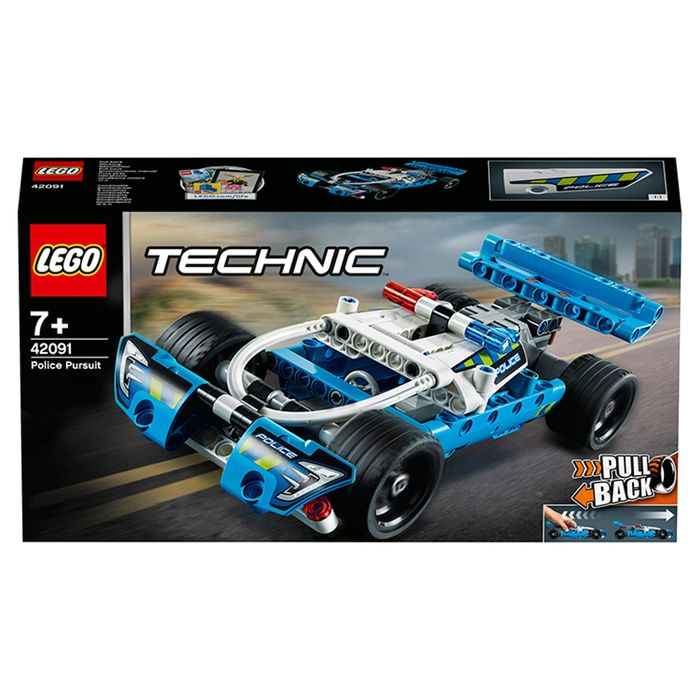 LEGO Technic Police Pursuit with Pull Back Motor
