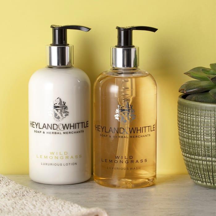 Heyland & Whittle - Free Wild Lemongrass Hand & Body Wash When You Spend £30*