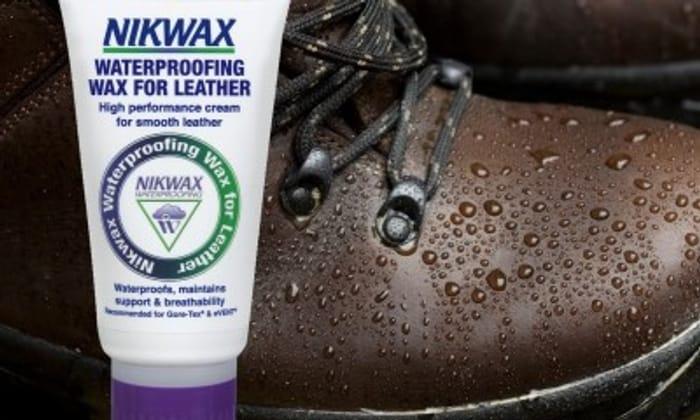 Free Nikwax Waterproofing Wax for Leather!