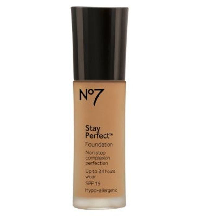 DEAL STACK - 3 x No7 Stay Perfect Foundations for £20 - Usually £15 Each!
