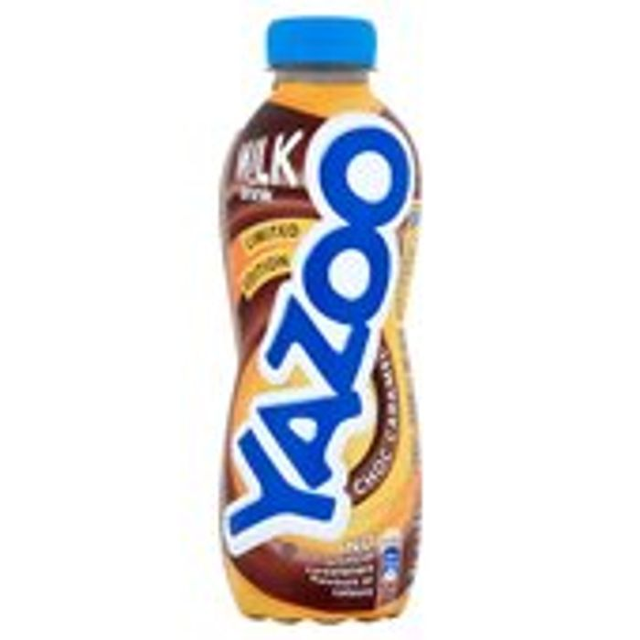Yazoo Chocolate Caramel 400ml and Other Flavours Just 50p Each