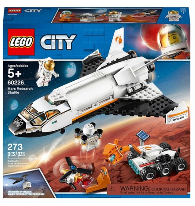 LEGO - City Mars Research Shuttle Space Playset 60226 Only £15