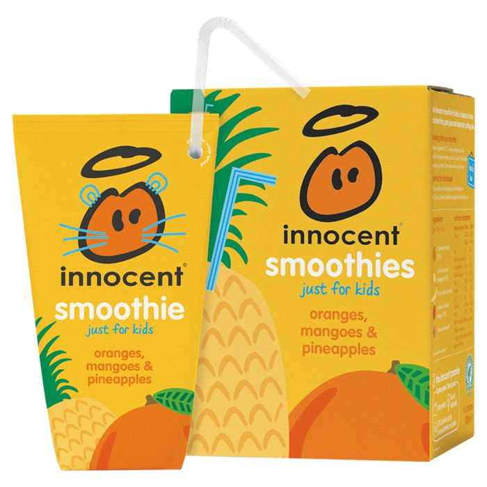 Innocent Kids Smoothie 4X180ml