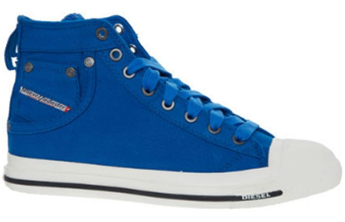 DIESEL Blue High Top Trainers, £22 at