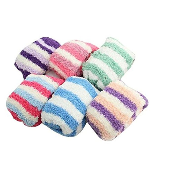 4pack Fluffy Bedsocks + Free Delivery