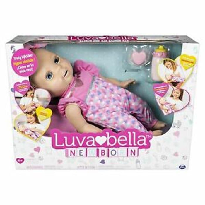 Brand New of 2019 LuvaBella Newborn Interactive Doll