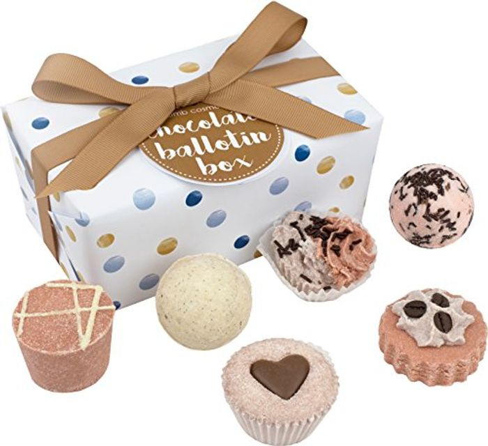 Bomb Cosmetics Chocolate Handmade Bath Melts 6 Piece