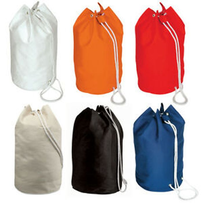 Cotton Drawstring Sailor Bag from £1.99 FREE POSTAGE and MULTI-BUY Discount